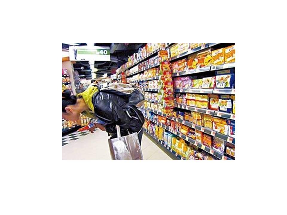 不要空肚去超市