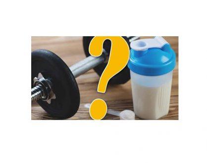 增肌必需服用高蛋白补充品?