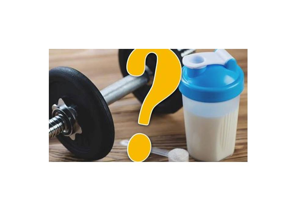 增肌必需服用高蛋白補充品?