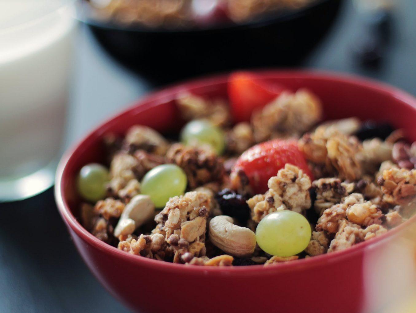 營選穀物早餐Granola和Muesli
